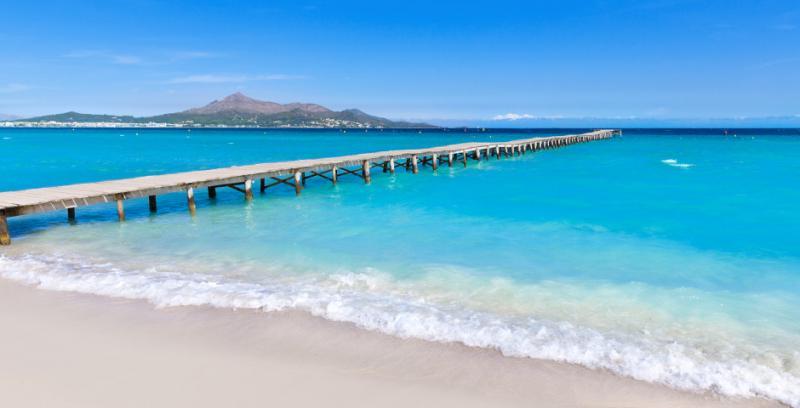 Nord de Majorque : la Playa de Muro une des plus belles plages de sable blanc de Majorque