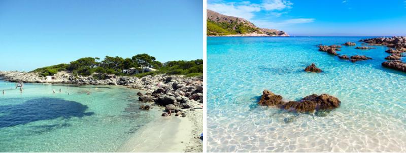 Nord de Majorque : Cala Molto, Cala Ratjada, Cala Agulla, trois magnifiques criques dans la zone sauvage du Llevant