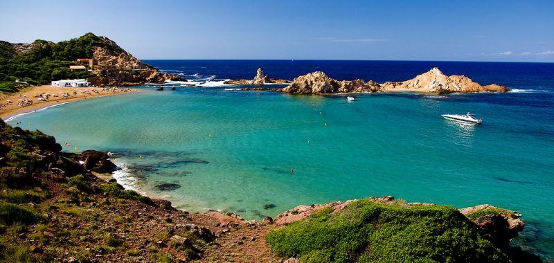 Les plus belles plages de la côte Nord de Minorque
