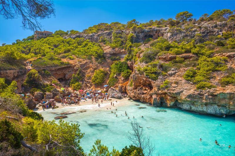 Est et Sud de Majorque : Caló des Moro, la plus belle plage de Santanyí