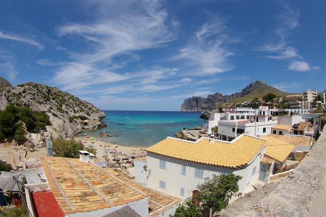 Nord de Majorque : Cala Sant Vicenç, l'une des criques les plus spectaculaires de Majorque