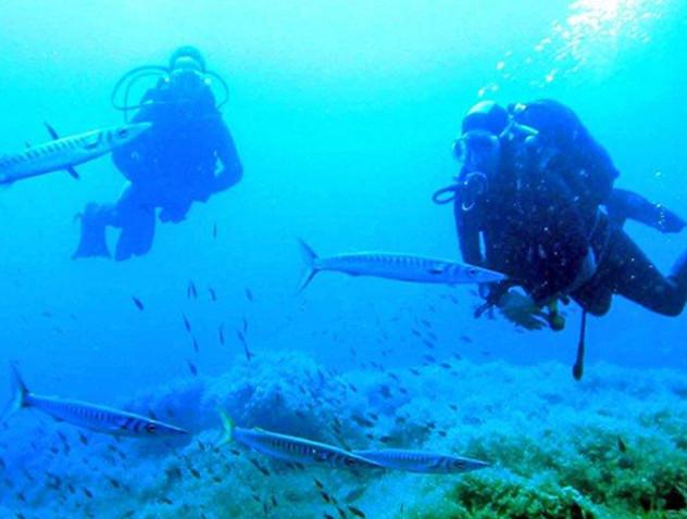 Centre de plongée de Fornells à Minorque