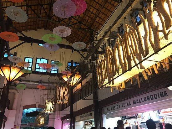 Le marché de San Juan à Palma de Majorque