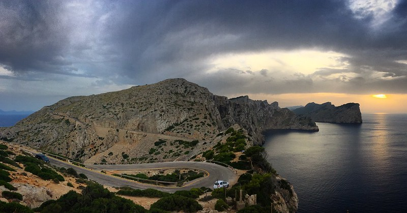 Cap Formentor sunset2
